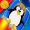 Pinguin Huepfer