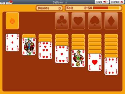 Solitaire by Gameduell